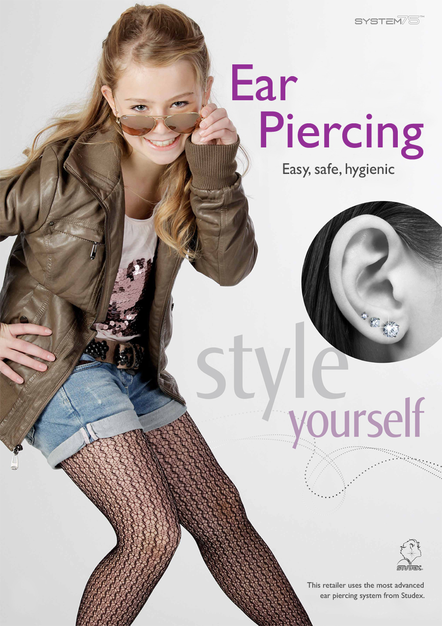 This Studex partner offers ear piercing services with our state-of-the-art eat piercing system Studex® System75™
